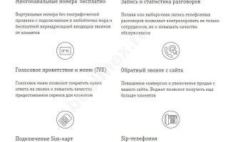 Билайн облачная (виртуальная) АТС: особенности, возможности, тарифы, подключение, IP телефония, виртуальный номер
