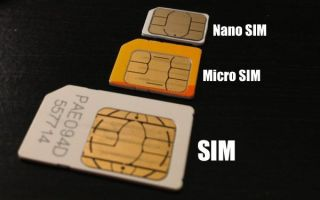 Как заменить обычную СИМ-карту Теле2 на микро и нано СИМ